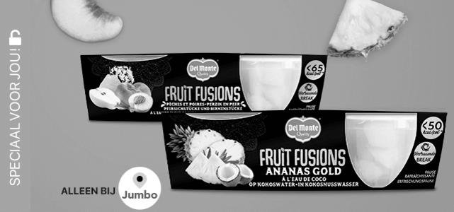 Del Monte Fruit Fusion: van €1,69* voor €0,-