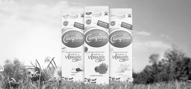 Campina drinkyoghurt met een Vleugje: van €1,39* voor €0,-