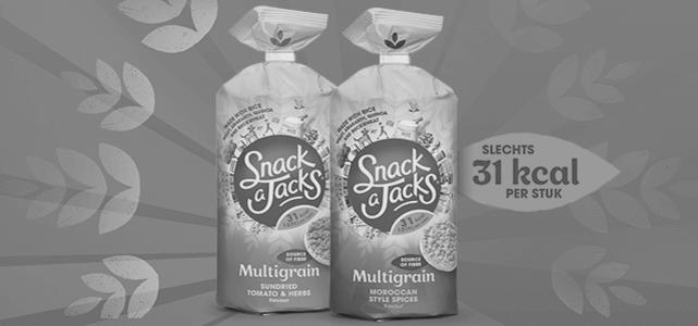 Snack a Jacks Meergranen Rijstwafels: van €1,89* voor €0,50