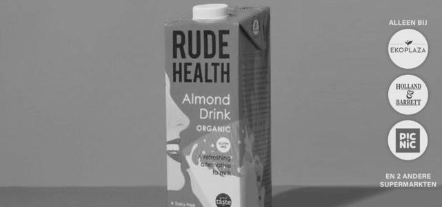 Rude Health Biologische Almond Drink: van €3,19* voor €0,-