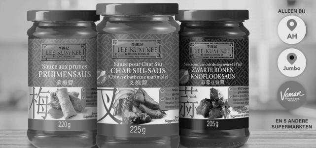 Lee Kum Kee selectieve sauzen: van €2,15* voor €0,-