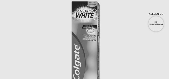 Colgate Sensation White tandpasta: van €2,99* voor €1,-